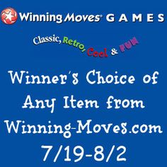 Winning Moves Winner's Choice Giveaway #Giveaway