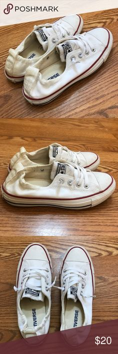 Converse Chuck Taylor Sneakers Converse sneakers. Slip on style. Worn a few times, still in great condition and very comfortable. Converse Shoes Sneakers