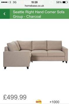 Homebase corner sofa