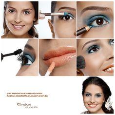 #Dica: Nos dias quentes, a maquiagem deve sempre parecer fresquinha. E nada melhor do que o gloss para dar esse efeito! #maquiagem #gloss http://www.adoromaquiagem.com.br/dicas-maquiagem/novidades-tendencias/look-de-verao/16046/