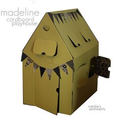 Madeline Cardboard Playhouse