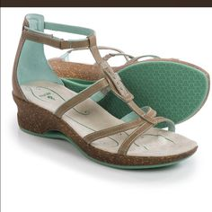 """AHNU   Gladiator -Worn 1x inside ❣BEAUTIFUL SandalsWorn only once indoors. Full grain leather w:shock absorbing midsole. Comfy 2""""heel /light weight 1lb 4oz/ /these are made to walk all day in comfort / Google them to know how good they are . Ahnu Shoes Sandals"""