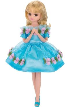 Licca Chan Doll Clothes Party Dress Heart Flower Set Takara Tomy from Japan | eBay