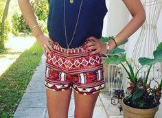 Ramble Printed Shorts
