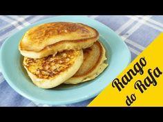 Panqueca americana (pancakes) - Rango do Rafa - YouTube