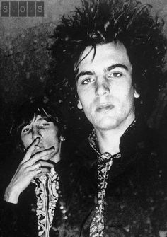 Roger Waters & Syd Barrett   Waters and Barrett were childhood friends, and Waters often visited gigs Barrett put on in the front room of his home around 1961 shortly after the death of Barrett's father.
