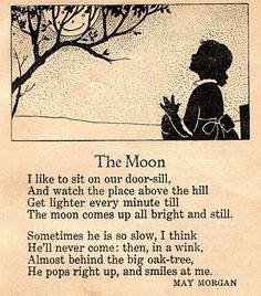 A Vintage Cottage Home: poems Poem Quotes, Words Quotes, Sayings, Over The Moon, Stars And Moon, Nursery Rhymes Poems, Rhymes Songs, Pomes, Kids Poems