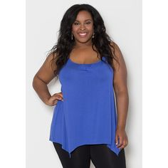Sealed with a Kiss Women's Plus Size 'Brooke' Tank Top