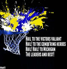 #Hail #Michigan #Wolverines