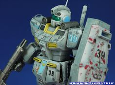 RGM-79D GM Cold District MBT Ver Gundam 0080