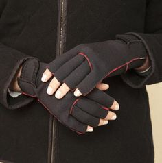 Neoprene Gloves: Serious warmth. http://tinyurl.com/18r  £9.95   #Gloves #Neoprene_Gloves