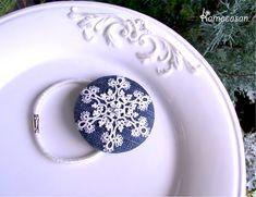 *雪の結晶のヘアゴム* - kamacosan.