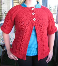 I've knitted the February Lady Sweater!