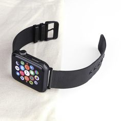 Best luxury Apple watch bands, Iphone cases and fashion for both men and women. We carry luxury affordable unique products from bags to jewelry and accessories. Apple Watch Accessories, Mesh Band, Stainless Steel Mesh, Latest Gadgets, Apple Watch Bands, Series 4, Bling, Rose Gold, Watches