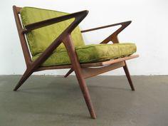 danish midcentury modern teak lounge chair designed by poul jensen for selig