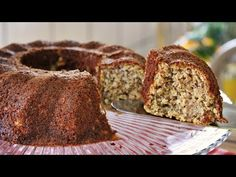How to Make Banana Fit Cake Diabetic Recipes, Healthy Recipes, Bolo Fit, Sugar Free Desserts, Banana Bread, Food To Make, Deserts, Food And Drink, Low Carb