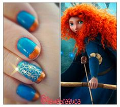 inspired by the movie Brave!  Love it!!