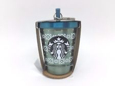 STARBUCKS Tumbler Keychain Ornament X'Mas New Year 2018 Stainless Starbucks Christmas, Starbucks Tumbler, Flask, Barware, Ornaments, Ebay, Bar Accessories, Embellishments, Ornament