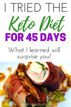 I tried the Keto Diet for 6 weeks. Learn what happened on the Keto diet week 1, 30 day results, and 45 day results. Simple tips and tricks for weightloss and starting the keto diet for beginners. My ketogenic diet before and after results after more than 1 month. #keto #ketodietresults #ketodiet #ketogenic #ketogenicdiet