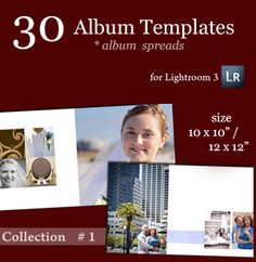 Lightroom Photobook Templates