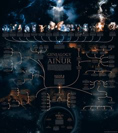 Another edition with the genealogy of the Royal Line of Númenor across all the Second Age of the Sun, from Elros, Tar-Minyatur to the foundations of the kingdoms of Gondor and Arnor. Hope you ...
