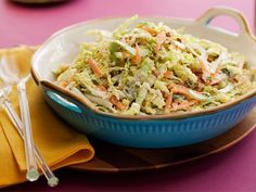 New Orleans Coleslaw Recipe : Nigella Lawson : Food Network Picnic Side Dishes, Side Dishes For Bbq, Summer Side Dishes, Nigella Lawson, Bean Sprout Salad, Sprouts Salad, Bean Sprouts, Top Recipes, Side Dish Recipes