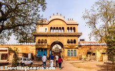 Shri Rangji Temple was the first one...The very first Photograph shows main gate of Shri Rangji Temple in Vridavan temple resembles with South Indian Temples and most of the priests were from South.