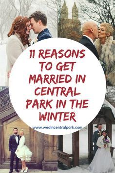 eleven reasons to get married in Central Park in the Winter