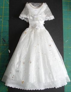 little paper dresses - has instructions too