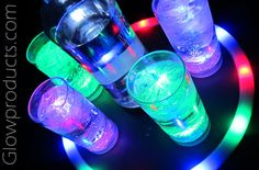 Light Up Drink & Party Products! https://glowproducts.com/us/barglowproducts #GlowParty #Glow