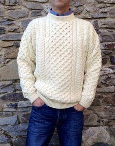Legacy Aran Sweater Natural
