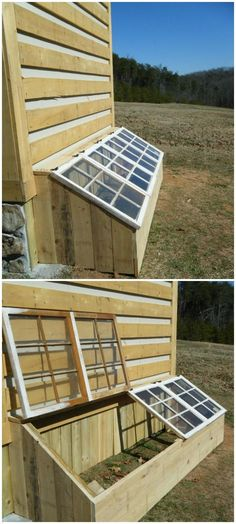 DIY Low-Cost Spring Greenhouse - 80+ DIY Greenhouse Ideas with Step-by-Step Tutorials - DIY & Crafts