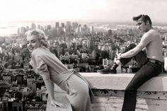 Imagen de Elvis Presley — elvis & marilyn monroe