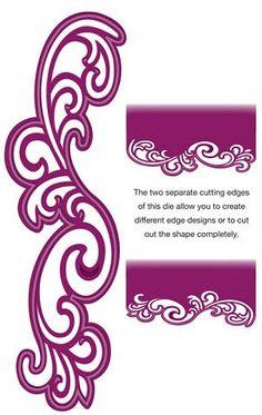 Creative Expressions Sue Wilson Die - Gemini Dies - Lyra CED4403 by PNWCrafts on Etsy