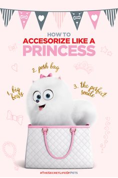 For Gidget, fashion comes naturally. This Pomeranian knows how to accessorize. Famous Dogs, Doodle Inspiration, Secret Life Of Pets, Pet Fashion, Pet Rabbit, Coyotes, Classic Cartoons, Animal Party, Comic Covers