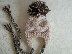 Knit Baby Boy Hat Baby Boy Knit Hat Newborn Boy Hat by effybags Newborn Boy Hats, Baby Girl Hats, Baby Boy Fashion, Girl With Hat, Crochet Baby Boy Hat, Baby Boy Knitting, Hat Crochet, Baby Boys, Baby Hut