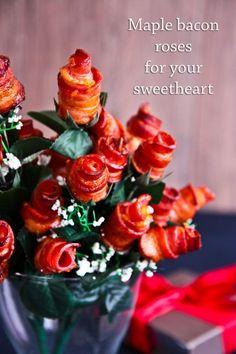 Maple Bacon Roses @Lorraine Elliott