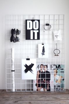 A great way to display all of your inspiration and motivation coming into the new year!