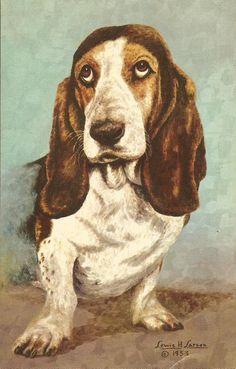 Vintage Dog Postcards and Ephemera : Photo