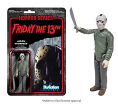 Funko Horror Classics Jason Voorhees ReAction Figure - Visit http://popvinyl.net/product/funko-horror-classics-jason-voorhees-reaction-figure/ for more information - #funko #popvinyl #Funkopop