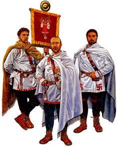 The Edge of Empire: Auxiliary vexillarius - Auxiliary tribune - Auxiliary centurion, mid-3rd century AD