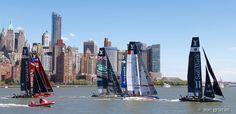 View source image Sail Racing, View Source, New York Skyline, Sailing, America, Image, Travel, Candle, Viajes