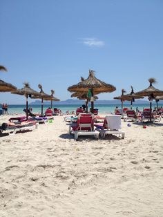 My favourite Alcudia Beach, June 2013  This is where my sister lives!