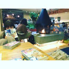 おふろカフェ お風呂入ってご飯食べれて漫画読めるって最高 #湯船最高 #おふろカフェ by masamiiii6