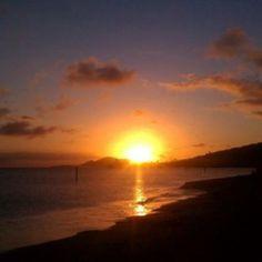 Hawaiian Sunset by Michael Mimiaga