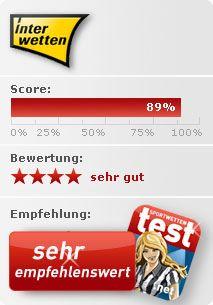 """Testbericht zum Wettanbieter Interwetten: Bewertung """"sehr gut"""" Sports Betting"""