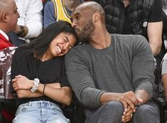 Kobe Bryant's Sweetest Family Photos The late NBA star married wife Vanessa in 2001 and together they had four daughters: Natalia, Gianna, Bianka and Capri Kobe Bryant Family, Kobe Bryant Nba, Kobe Bryant Basketball Shoes, Kobe Bryant And Wife, Mba Basketball, Basketball Videos, Basketball Posters, Basketball Design, Basketball Birthday