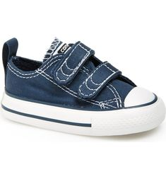 Free shipping and returns on Converse Chuck Taylor® 'Double Strap' Sneaker (Baby, Walker & Toddler) at Nordstrom.com. Contrast stitching highlights a cool canvas sneaker styled with a signature rubber toe cap and two hook-and-loop straps for a snug fit.
