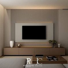 Good Housekeeping Mantra: 30 TV Wall Units To Organize And Stylize Your Home Living Room Interior, Home Living Room, Living Room Decor, Kitchen Interior, Tv Wall Ideas Living Room, Apartment Interior, Room Kitchen, Apartment Design, Bathroom Interior