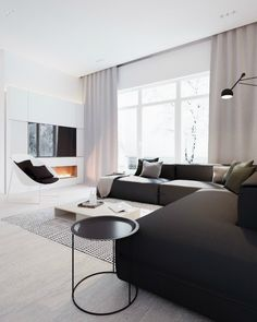 Minimalist Black and White Interior 4